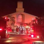 Suspect in Florida mosque fire may plead no contest
