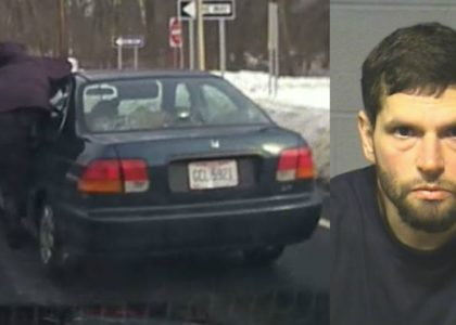 [VIDEO] Shoplifting suspect drags cop 150 yards with car