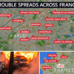 VIDEO: French Police Flee Armed Mob as Week-Long Paris Riots Spread