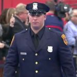 Marine veteran who lost both legs in Afghanistan sworn in as NY police officer