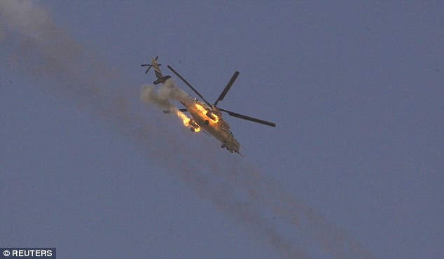 ISIS shoots down Iraqi army helicopter in Mosul