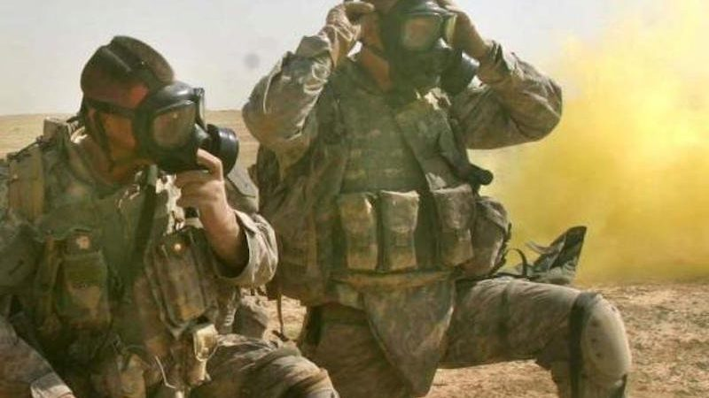 US Advisers Targeted with Chemical Weapons BY ISIS!