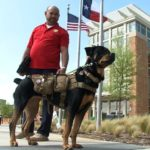 Disabled veteran claims university kicked out his service dog