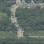 Active Firefight in Dallas, Firefighter Shot