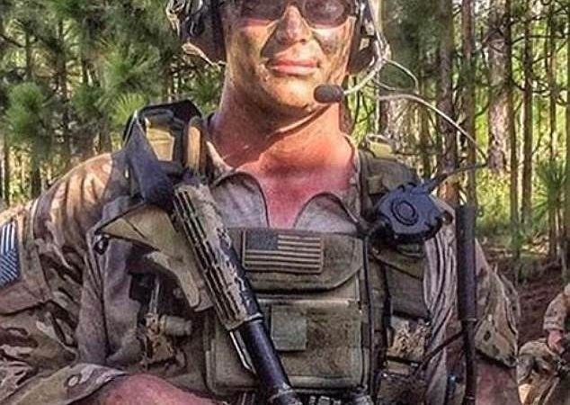 82nd Airborne division officer killed by an IED while fighting ISIS in Mosul