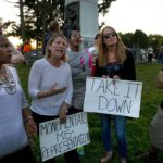 Confederate monument in Forest Park again draws feuding factions