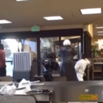 CRAZY VIDEO: Teen Trashes Supermarket Then OPENS FIRE on Employees BREAKING NEWS