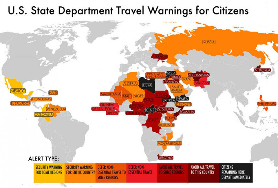 Us State Department Safe Travel List