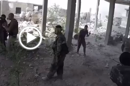 DUDE takes Bullet to the SPINE During Fight For Jobar