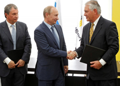 Exxon under Tillerson violated Russia sanctions in 2014