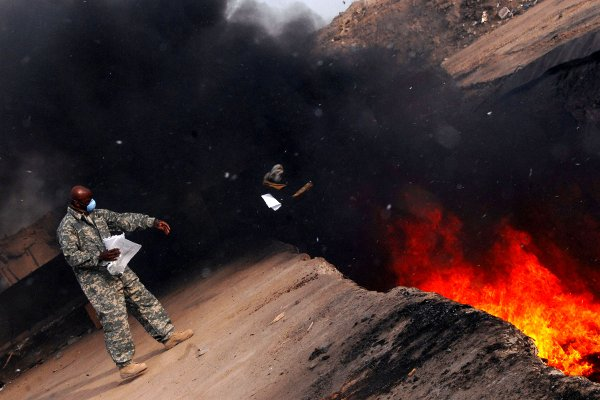 Veterans Exposed to Burn Pits Wait for Lawsuit Decision