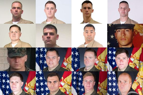 Corps Identifies 16 Troops Killed in Tragic KC-130 Crash