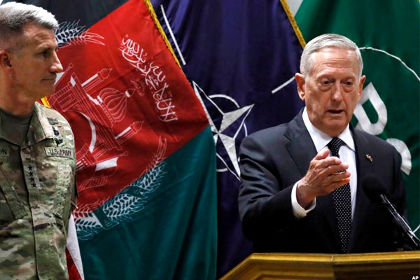 Officials Still Working on New Strategy for Afghanistan: Mattis