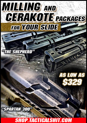 Milling and Cerakote Packages for Your Slide