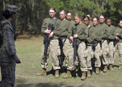 Marines Plan on Women in West Coast Combat Training