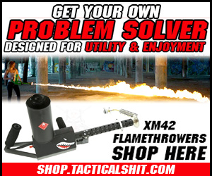 XM42 Flamethrowers