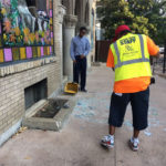 Businesses in Central West End clean up after protests