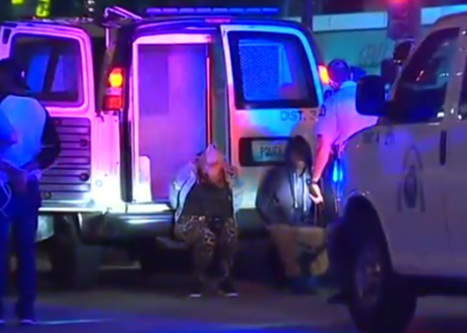 St. Louis officers chant 'whose streets, our streets' while arresting protesters