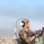 Iraqi Soldier Gets Shot In The Head Trying To Show Off For Camera