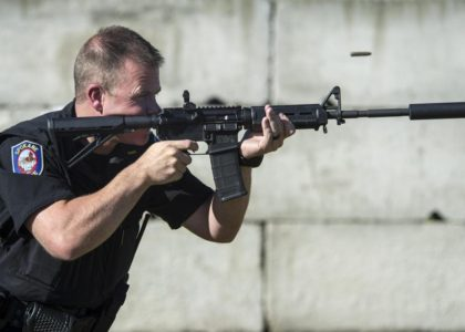 Spokane Police will add suppressors to rifles, citing concerns about hearing damage