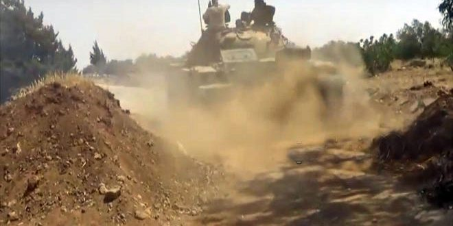 Army continues operations against ISIS on eastern bank of the Euphrates River