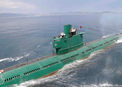 North Korea is Building a Bigger, Better Missile Submarine