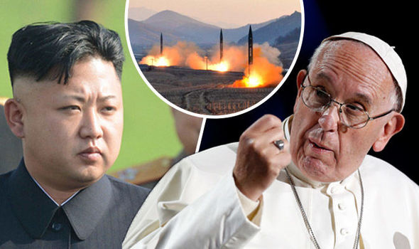 Pope Francis to TALK to Kim Jong to avert World War 3
