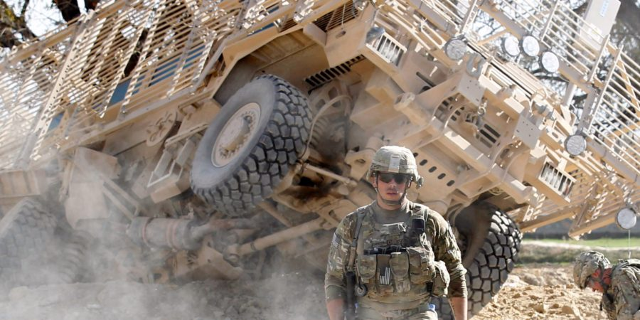 4 US soldiers wounded after an IED attack in Afghanistan