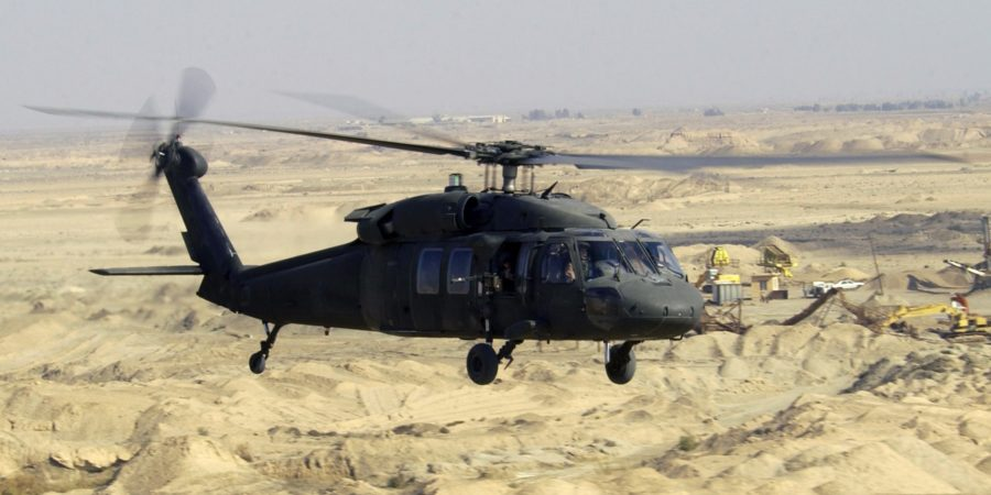 Black Hawk rotor fails more than a mile high!