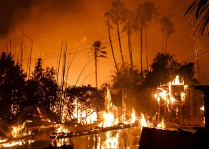 California Fire Now Fifth-Largest in State's History