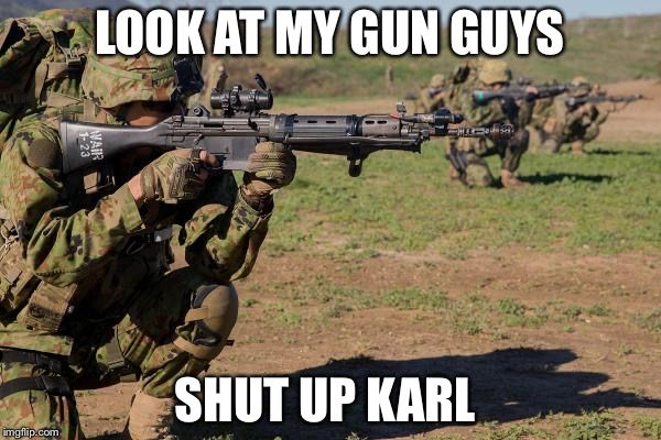 The army has had a change of plans concerning their short term rifle!