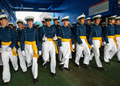 Current and former Cadets have this to say about their time At the airforce academy.