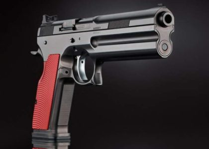 The pistol with a price tag of 7Gs that defeats body armor! *Video*