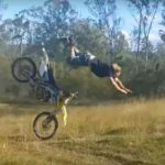 What happens when you go to hard on ATVs! *Video*