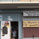 One of the few gunshops in Hawaii!