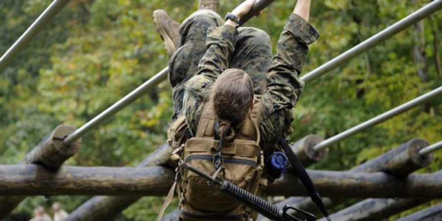 Marine Corps removes obstacle for female infantry officers.