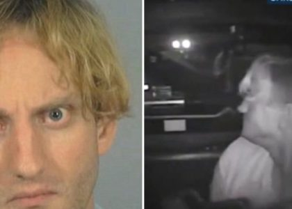Mentally Unstable Suspect in the Back of a Police Car Manages to Opens Fire on Officers!