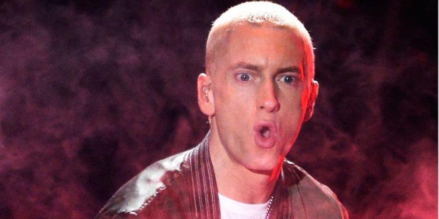 Eminem blames the NRA!