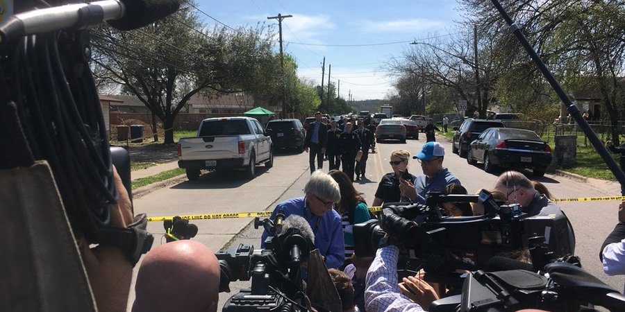 Suspicious Packages exploding all over Austin!