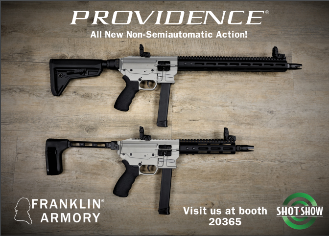Franklin Armory is at it AGAIN! Introducing the Providence!