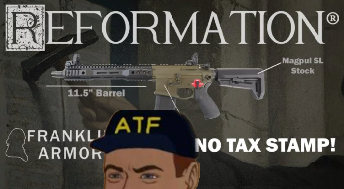 The Atf Changed Its Mind Again This Time Targeting Franklin Armory