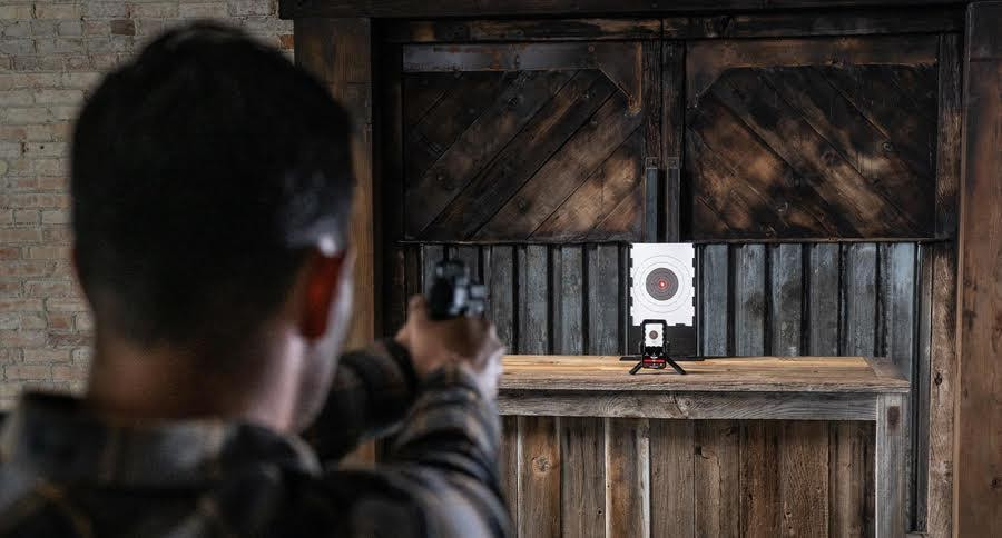 INCREASE YOUR SHOT ACCURACY AT HOME FOR ONLY $89 USING THE STRIKEMAN TRAINING SYSTEM
