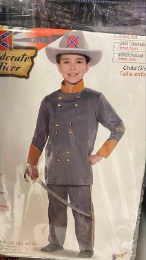 Party City under fire for Confederate soldier kids' Halloween costumes at Virginia store
