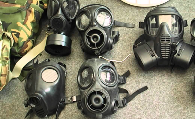 The U.S. Is Running Low on Armor and Gas Masks But We Have Some