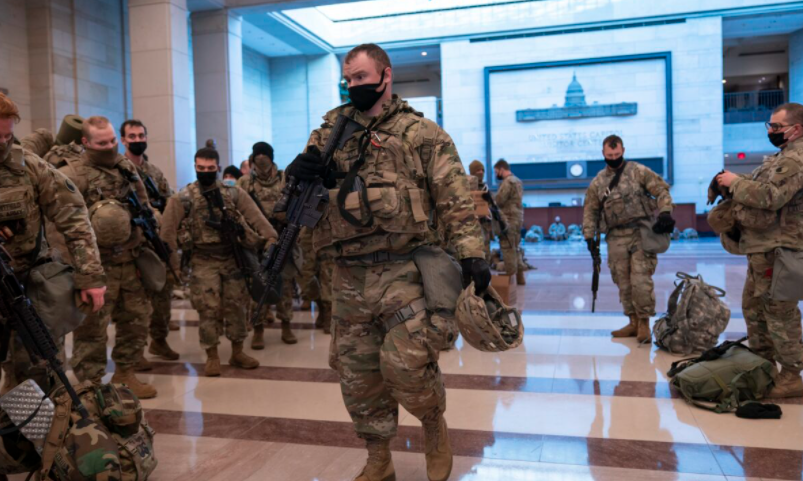 2,000 National Guard Troops in DC Sworn in as Special Deputy US Marshals