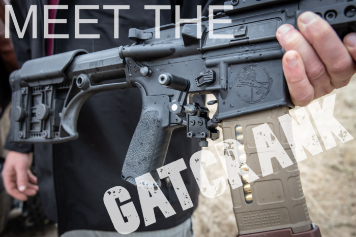 Increase Your Rate Of Fire with The GatCrank!