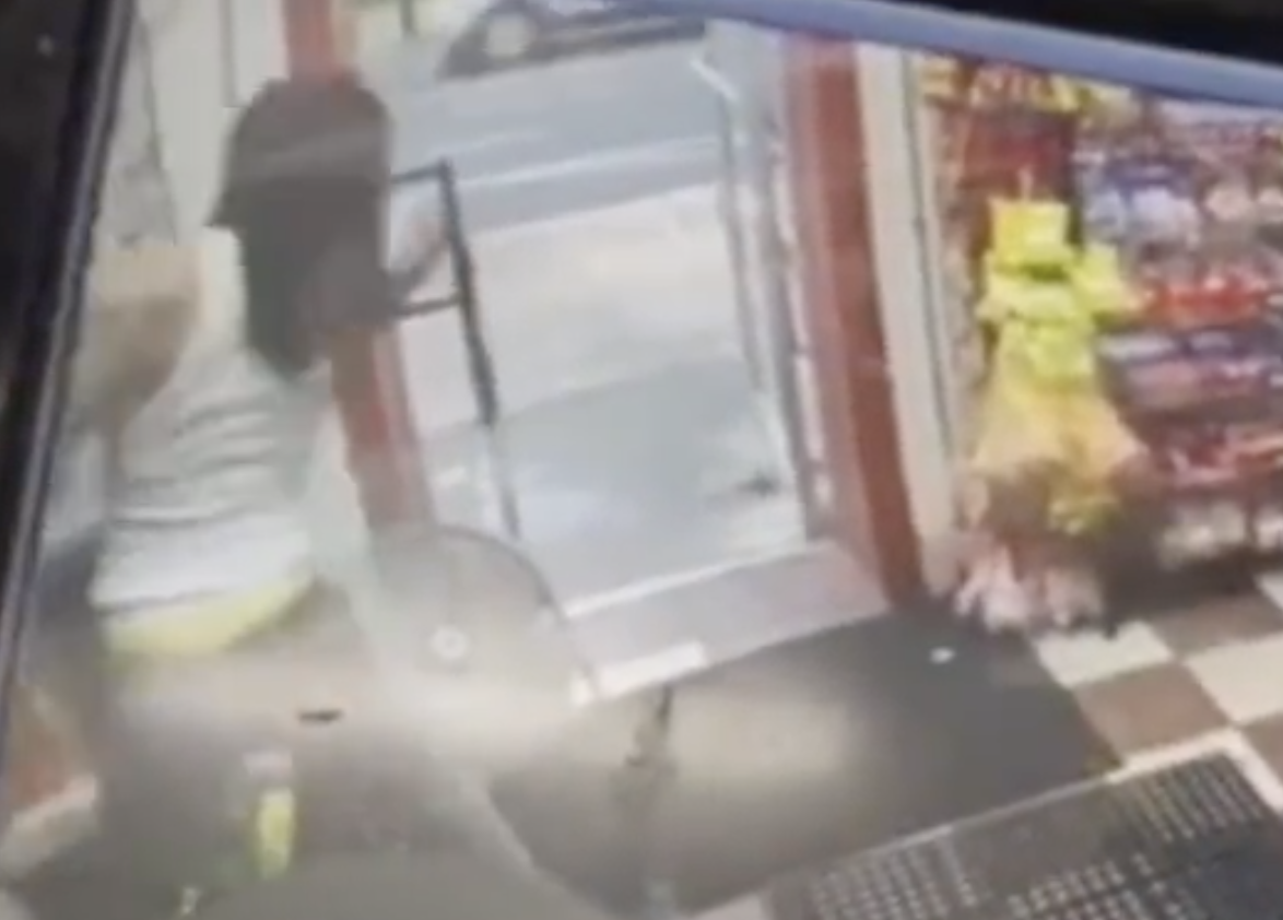 Video shows 1-year-old shot in convenience store