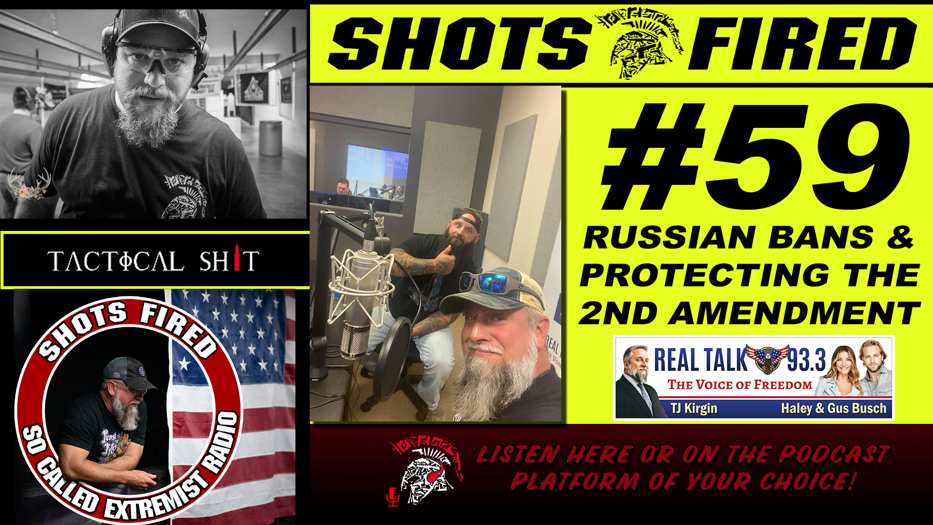 Shots Fired EP 59: Russian Bans & Protecting The 2nd Amendment